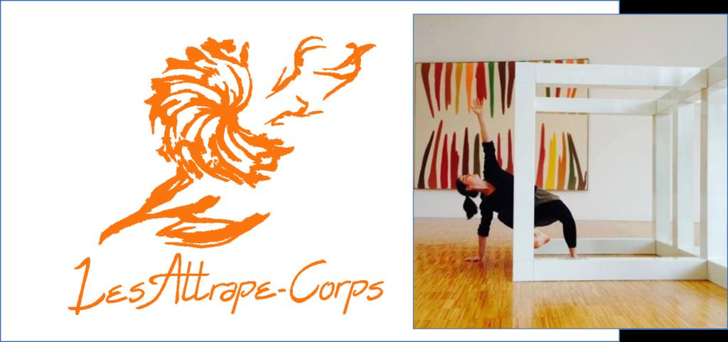 """<p class=""""titrepf"""">Présences Éphémères - Compagnie les Attrape-Corps</p>"""