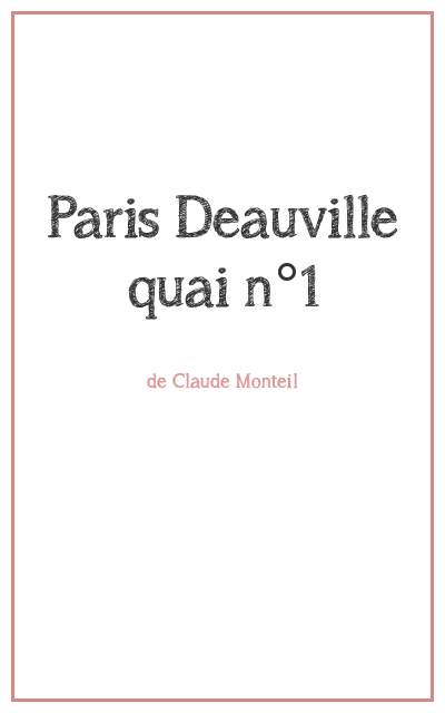 """<p class=""""titrepf"""">Paris Deauville quai n°1 - Compagnie Urbaine Présences</p>"""