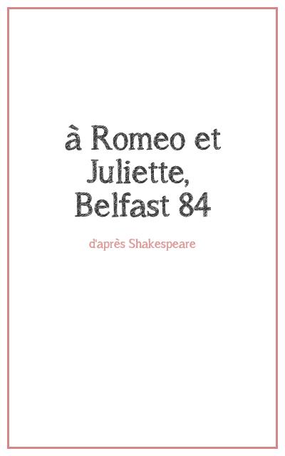 """<p class=""""titrepf"""">à Roméo et Juliette... - Compagnie Urbaine Présences</p>"""