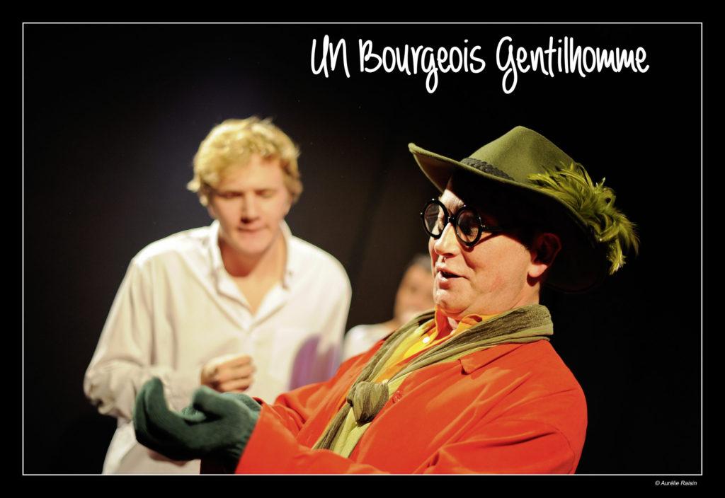 """<p class=""""titrepf"""">Un bourgeois gentilhomme - Compagnie Instant T.</p>"""