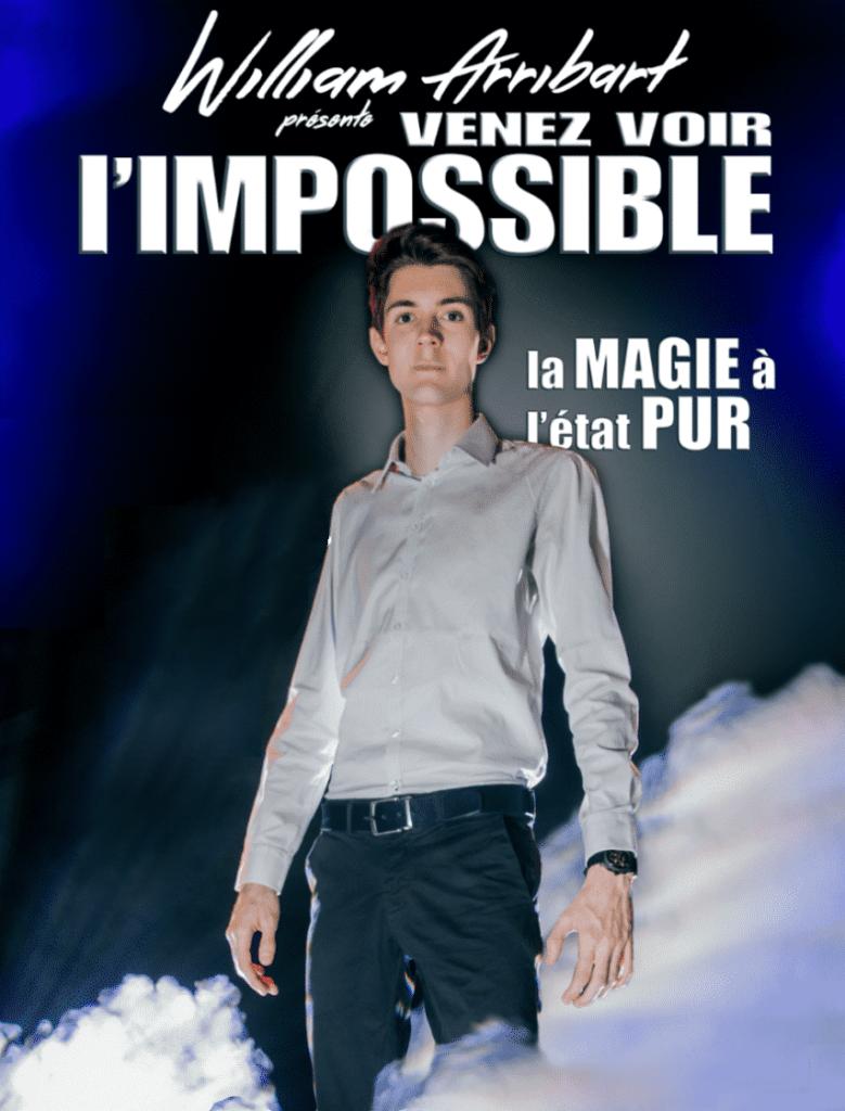 """<p class=""""titrepf"""">Venez voir l'impossible - William Arribart</p>"""